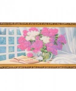 Картина  Лето с книгой  багет №6,5 (33х70 см) К830