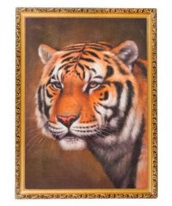 Картина  Тигр  багет №7 (50х70 см) В65737