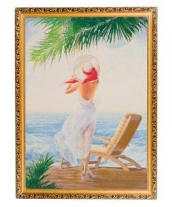 Картина  На солнце  багет №7 (50х70 см) HOP1010