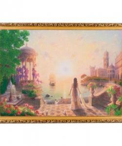 Картина  Возвращение  багет №7 (50х70 см) ГА12