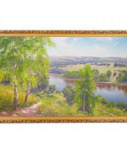 Картина  Тропинка  багет №10 (60х100 см) ПИ31