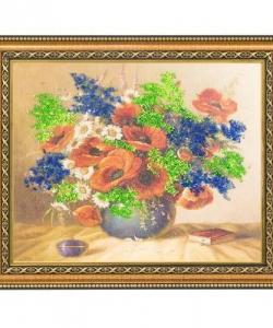 Картина  Летний букет  багет №3 (24х30 см) 99163