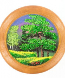Тарелка декоративная  Лето  Д-15см