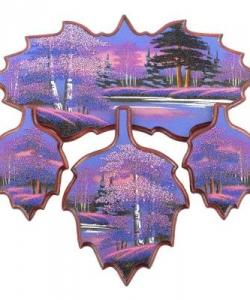 Кухонный набор  Рассвет  №1 440х430х15 мм 780 гр. рисунки в ассортименте