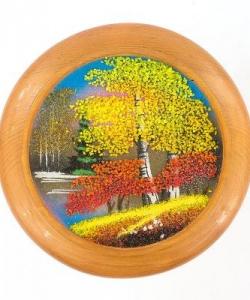 Тарелка декоративная  Осень  Д-15см
