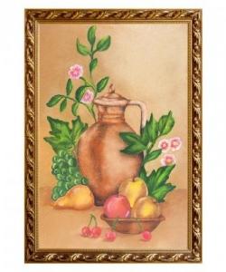 Натюрморт  Кувшин с фруктами  багет №6 (40х60 см)