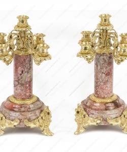 Канделябр 5-ти рожковый бронза креноид (пара)