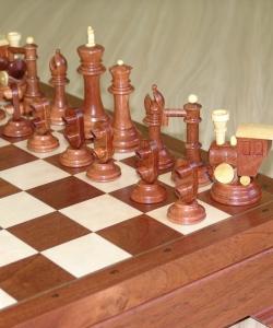 Эксклюзивные шахматы моряки и железнодорожники