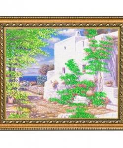 Картина  Испания  багет №3 (24х30 см) 99140