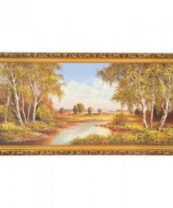 Картина  Тихая пора  багет №7 (40х80 см) 5001