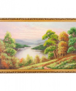 Картина  Вид издалека  багет №8 (50х80 см) 89104
