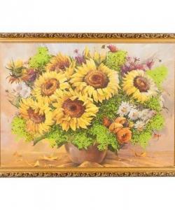 Картина  Подсолнухи  багет №7 (50х70 см) В357109