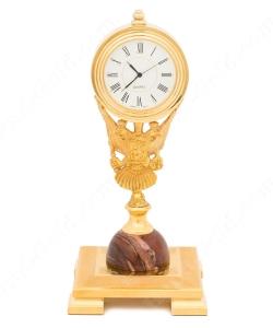 Часы Герб из Яшмы
