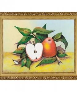 Натюрморт  Яблоки  багет №4 (30х40 см)